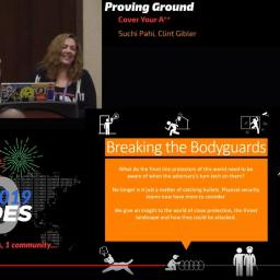 Bsides Las Vegas Talk: Breaking the Bodyguards